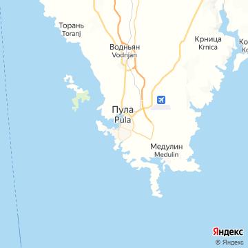 Карта Пулы