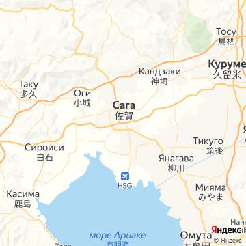 Карта Саги