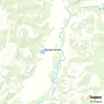 Карта Джаргалаха