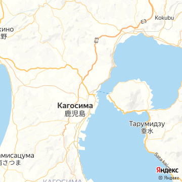 Карта Кагосимы