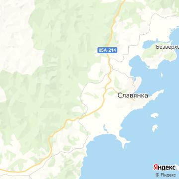 Карта Славянки