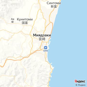 Карта Миязаков