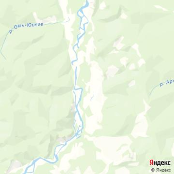 Карта Хатыннаха
