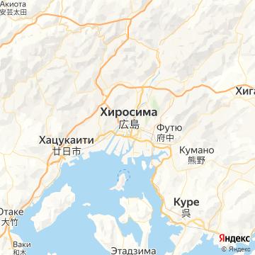 Карта Хиросимы