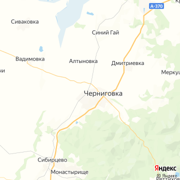 Карта Черниговки