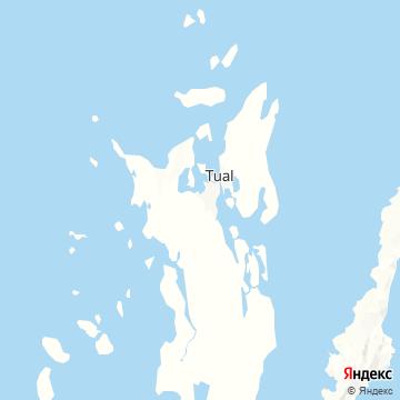 Карта Langgur