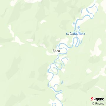Карта Бал