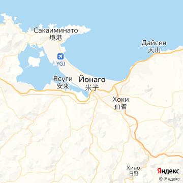 Карта Йонаго