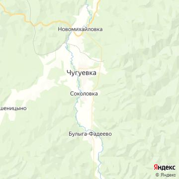 Карта Чугуевки