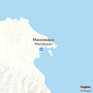 Карта Манокварей