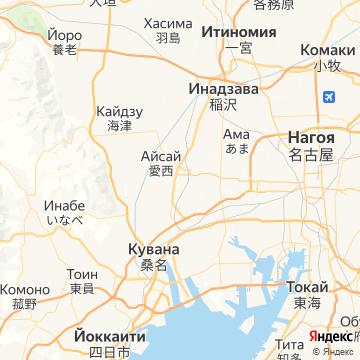 Карта Цусимы