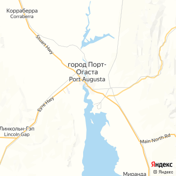 Карта Порта-Аугусты
