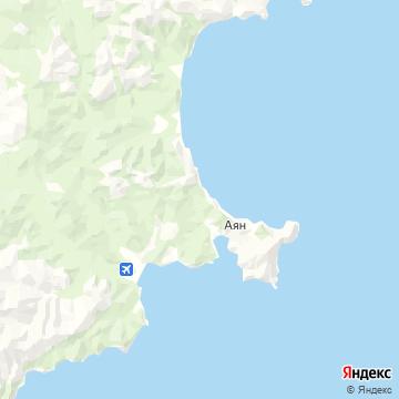 Карта Аяна