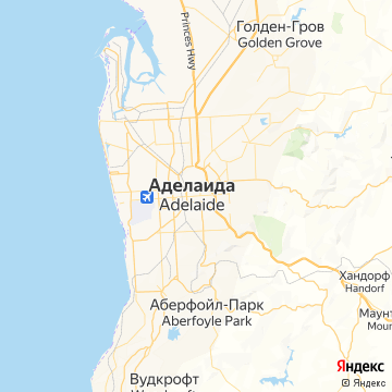 Карта Аделаиды