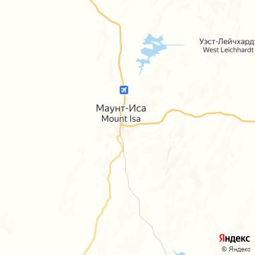 Карта Маунта-Исы