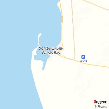 Карта Валвиса-Бея