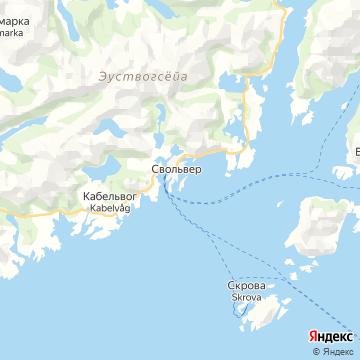Карта Сволваера