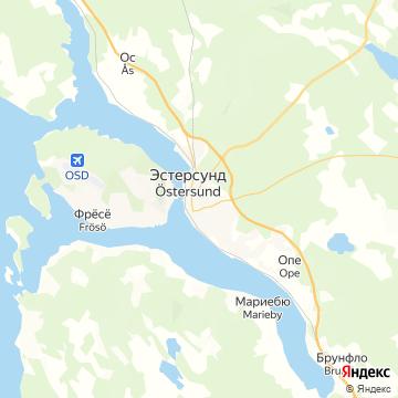 Карта Остерзунда