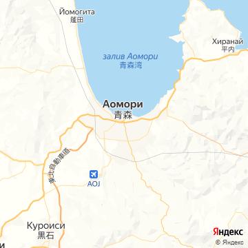 Карта Аомори