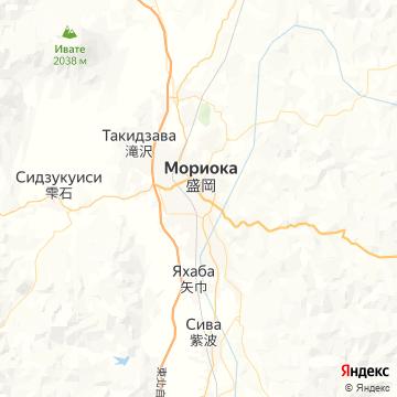 Карта Мориоки