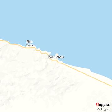 Карта Ванимо