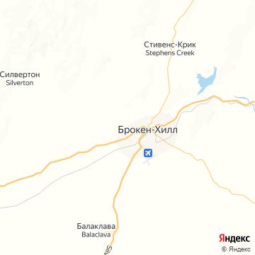 Карта Брокена-Хилла