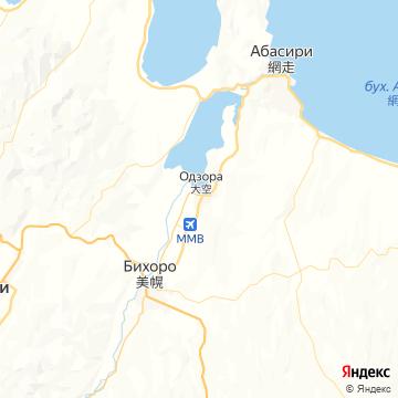 Карта Мемамбецу