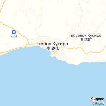 Карта Кусиро