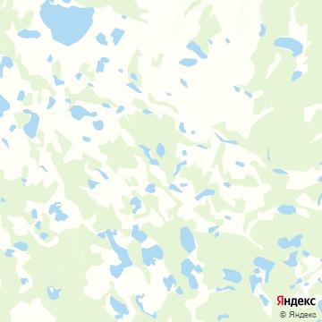 Карта Быягныра