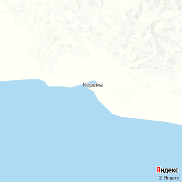 Карта Керемы