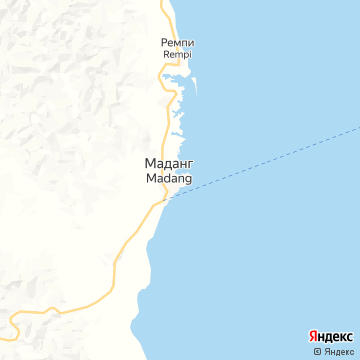 Карта Маданга