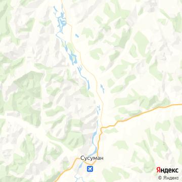 Карта Сусумана
