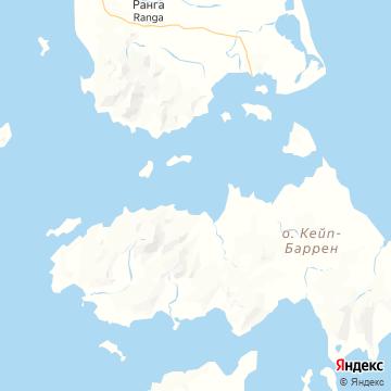 Карта Cape Barren Island TAS
