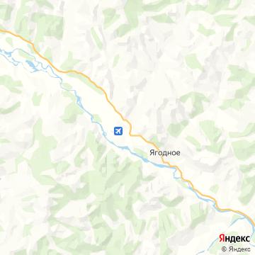 Карта Ягодное