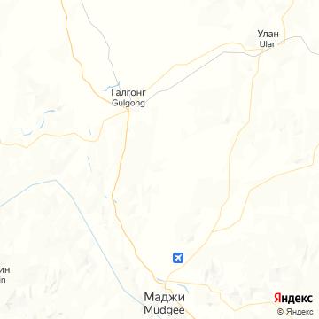 Карта Муджей