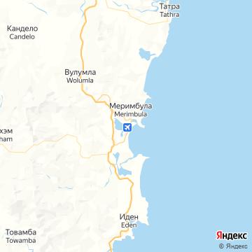 Карта Меримбулы