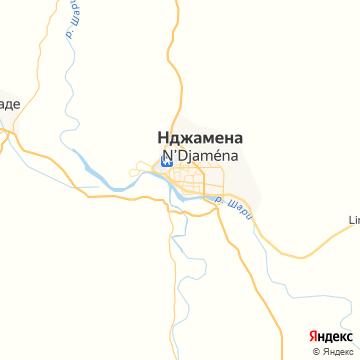 Карта Нджамены