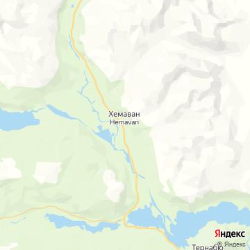 Карта Хемавана