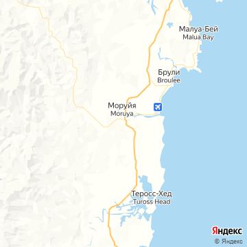 Карта Моруи