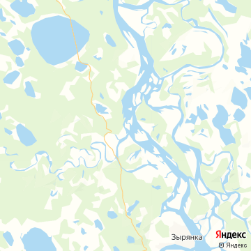 Карта Зырянки