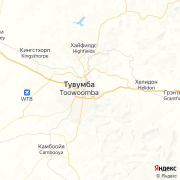 Карта Тувумбы