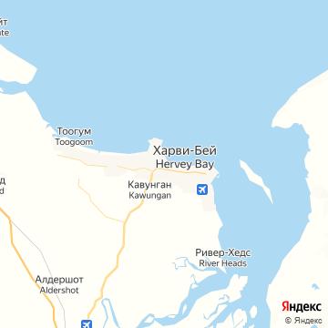 Карта Херви Бей
