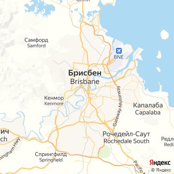 Карта Брисбна