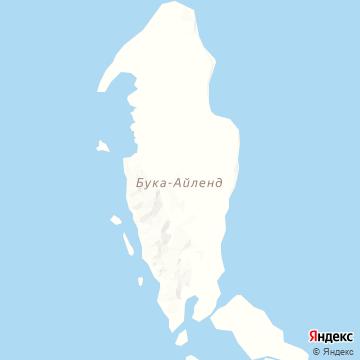 Карта Buka Island