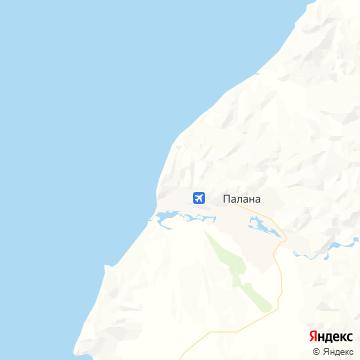 Карта Паланы