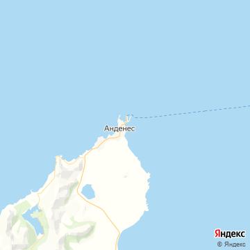 Карта Анденеса