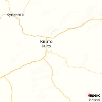 Карта Куита