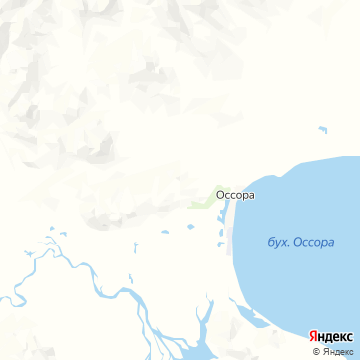 Карта Оссоры