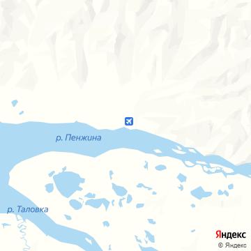 Карта Манил