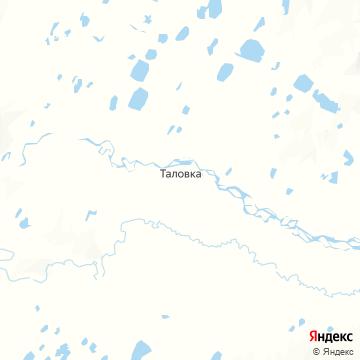 Карта Таловки
